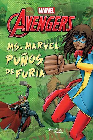 MS MARVEL. PUÑOS DE FURIA