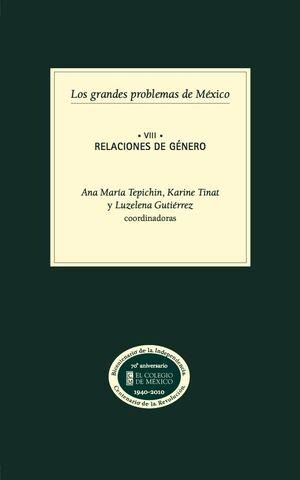 RELACIONES DE GÉNERO. T-VIII