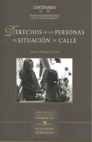 DERECHOS DE LAS PERSONAS EN SITUACIÓN DE CALLE