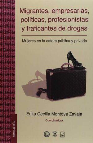 MIGRANTES, EMPRESARIAS, POLÍTICAS, PROFESIONISTAS Y TRAFICANTES DE DROGAS. MUJER
