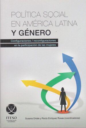 POLÍTICA SOCIAL EN AMÉRICA LATINA Y GÉNERO