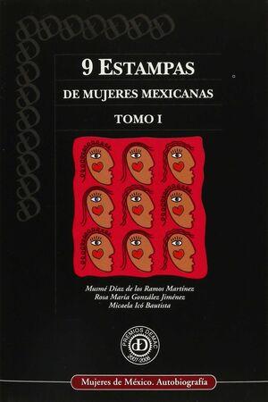 9 ESTAMPAS DE MUJERES MEXICANAS. (2 VOLS.)