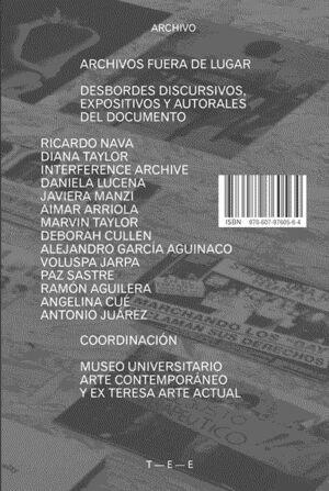 ARCHIVOS FUERA DE LUGAR