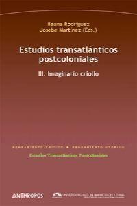 ESTUDIOS TRANSATLANTICOS POSTCOLONIALES III