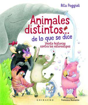 ANIMALES DISTINTOS… DE LO QUE SE DICE