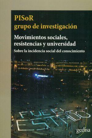 MOVIMIENTOS SOCIALES, RESISTENCIAS Y UNIVERSIDAD