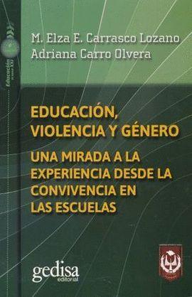 EDUCACIÓN, VIOLENCIA Y GÉNERO