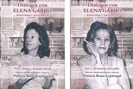 DIÁLOGOS CON ELENA GARRO. VOL. 1 Y 2