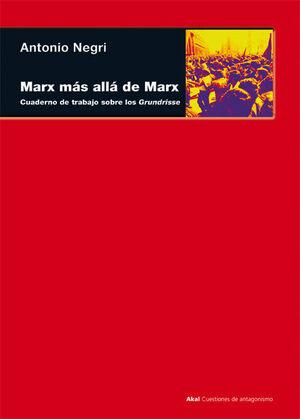 MARX MÁS ALLÁ DE MARX