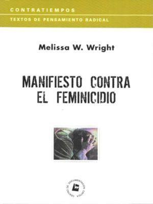 MANIFIESTO CONTRA EL FEMINICIDIO