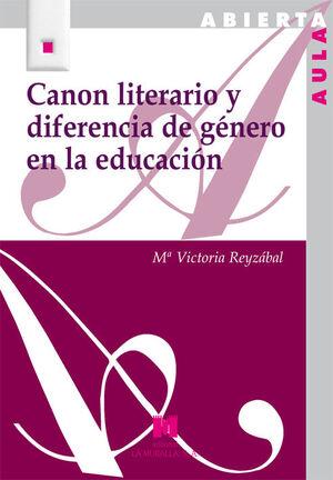 CANON LITERARIO Y DIFERENCIA DE GÉNERO EN LA EDUCACIÓN