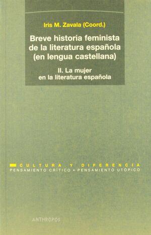 BREVE HISTORIA FEMINISTA DE LA LITERATURA ESPAÑOLA 2