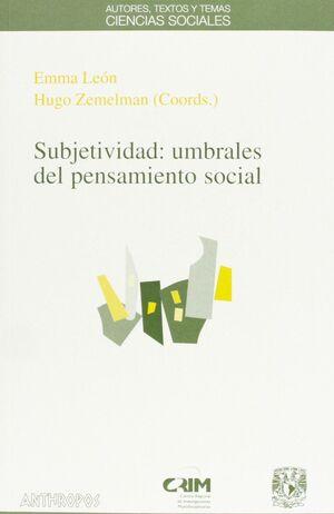 SUBJETIVIDAD: UMBRALES PENSAMIENTO