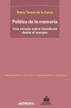 POLITICA DE LA MEMORIA
