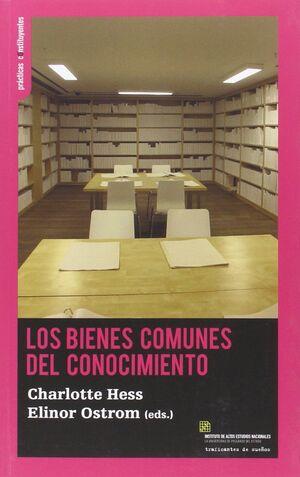 LOS BIENES COMUNES DEL CONOCIMIENTO