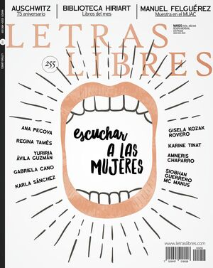 REVISTA LETRAS LIBRES NO. 255