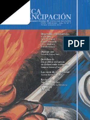 CRITICA Y EMANCIPACION, NUM. 7