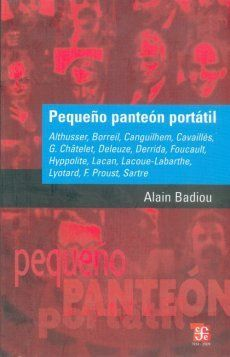 PEQUEÑO PANTEÓN PORTÁTIL: ALTHUSSER, BORREIL, CANGUILHEM, CAVAILLÈ, G
