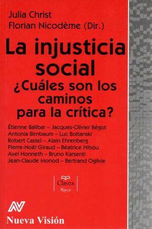 LA INJUSTICIA SOCIAL