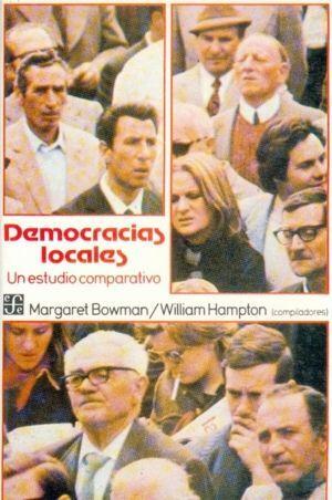 DEMOCRACIAS LOCALES : UN ESTUDIO COMPARATIVO