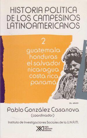 HISTORIA POLITICA DE LOS CAMPESINOS LATINOAMERICANOS, VOL. 2