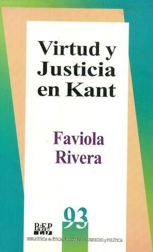 VIRTUD Y JUSTICIA EN KANT