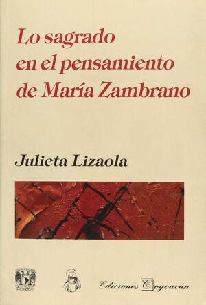 LO SAGRADO EN EL PENSAMIENTO DE MARIA ZAMBRANO
