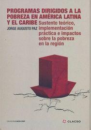 PROGRAMAS DIRIGIDOS A LA POBREZA EN AMÉRICA LATINA Y EL CARIBE