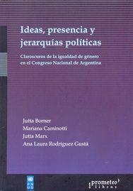 IDEAS, PRESENCIA Y JERARQUÍAS POLÍTICAS