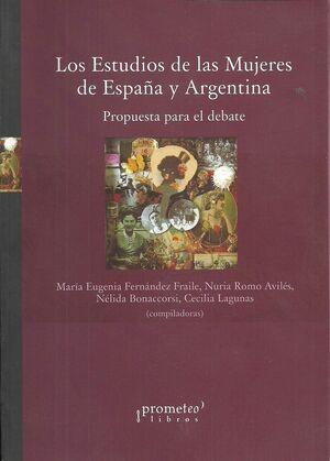 LOS ESTUDIOS DE LA MUJERES DE ESPAÑA Y ARGENTINA