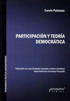 PARTICIPACION Y TEORIA DEMOCRATICA