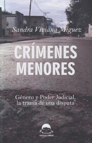 CRÍMENES MENORES